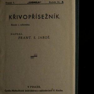 antikvární kniha Ludmila: Křivopřísežník, ročník XL., svazek 5, neuveden