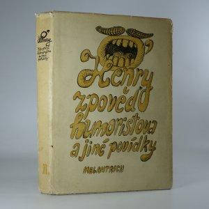 náhled knihy - Zpověď humoristova a jiné povídky