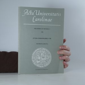 náhled knihy - Acta Universitatis Carolinae. Philosophica et Historica 1, Studia ethnographica VIII.
