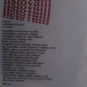 antikvární kniha Listování : úryvky z korespondence a článků, 1988