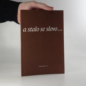 náhled knihy - A stalo se slovo...