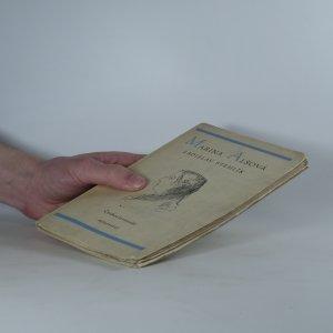 antikvární kniha Marina Alšová, 1952