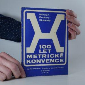 náhled knihy - 100 let metrické konvence