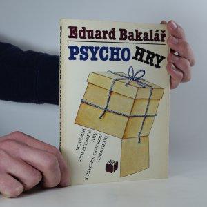 náhled knihy - Psychohry: moderní společenské hry s psychologickou tematikou