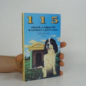 náhled knihy - 115 otázek a odpovědí k výchově a péči o psa