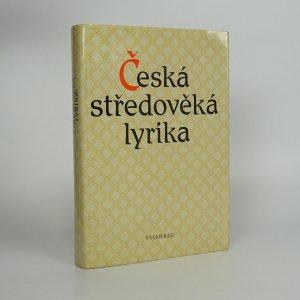 náhled knihy - Česká středověká lyrika