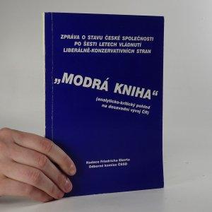 náhled knihy - Modrá kniha (analyticko-kritický pohled na dosavadní vývoj ČR)