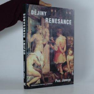 náhled knihy - Dějiny renesance