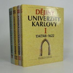 náhled knihy - Dějiny Univerzity Karlovy I. - IV. (4 svazky)