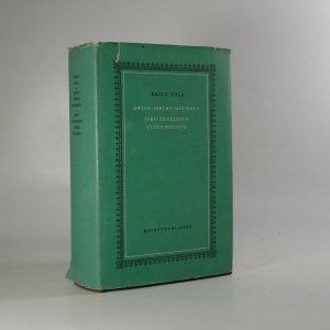 náhled knihy - Hřích abbého Moureta. Jeho Excelence Evžen Rougon