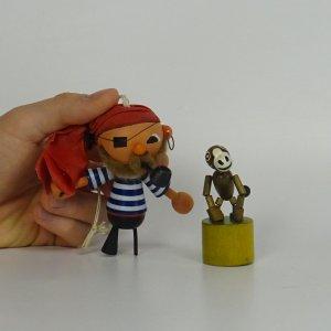 náhled knihy - Pirát s opicí
