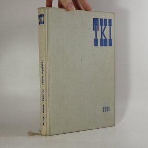 náhled knihy - Teorie regulace. 1. díl.
