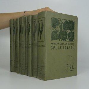 náhled knihy - Knihovna českých klassiků belletristů (I.-VIII. díl, 9 svazků. Nekompletní, viz poznámka)