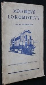 náhled knihy - Motorové lokomotivy