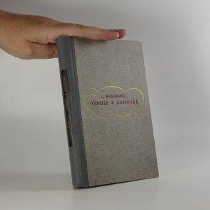 náhled knihy - Venuše a antikvář. Podivuhodný román výtvarníka