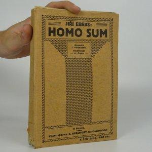 náhled knihy - Homo sum