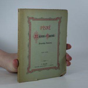 náhled knihy - Písně Marie Čacké