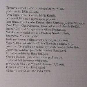 antikvární kniha Národní galerie v Praze I. Sbírka starého evropského umění, sbírka starého českého umění., 1984