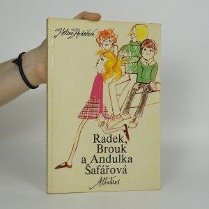 náhled knihy - Radek, Brouk a Andulka Šafářová