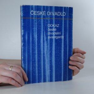 náhled knihy - Odkaz české divadelní avantgardy (J. Honzl, J. Frejka, E.F. Burian) (kniha je cítit zatuchlinou!)