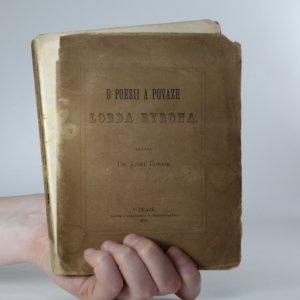náhled knihy - O poesii a povaze lorda Byrona