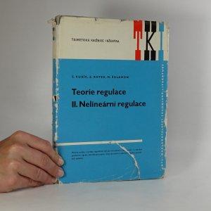 náhled knihy - Teorie regulace. 2. díl, Nelineární regulace.