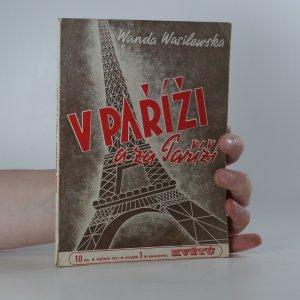 náhled knihy - V Paříži a za Paříží