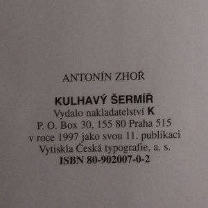 antikvární kniha Kulhavý šermíř, 1997