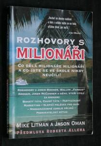 náhled knihy - Rozhovory s milionáři : co dělá milionáře milionáři a co jste se ve škole nikdy neučili!