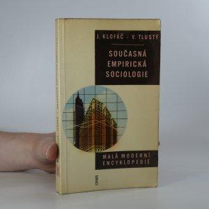 náhled knihy - Současná empirická sociologie