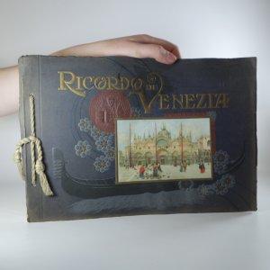 náhled knihy - Ricordo di Venezia