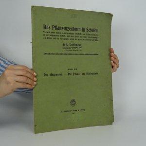 náhled knihy - Das Pflanzenzeichnen in Schulen