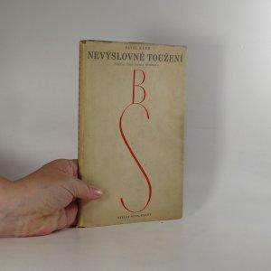 náhled knihy - Nevýslovné soužení. Studie Smetanova dramatu