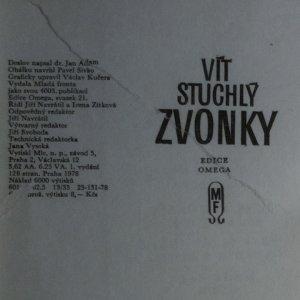 antikvární kniha Zvonky, 1978