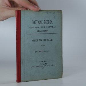 náhled knihy - Opět na horách : básně Rudolfa Pokorného