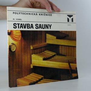 náhled knihy - Stavba sauny