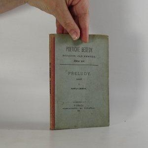 náhled knihy - Přeludy (Poetické besedy, č. XIV.)