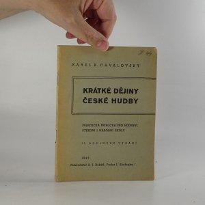 náhled knihy - Krátké dějiny české hudby
