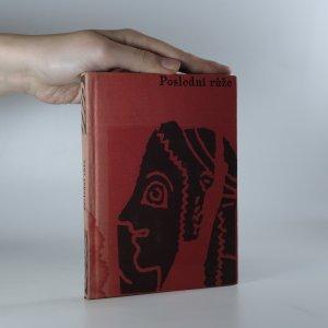 náhled knihy - Poslední růže