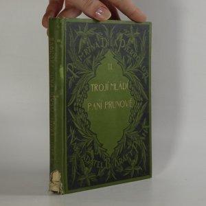 náhled knihy - Trojí mládí paní Prunové