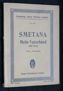 náhled knihy - Smetana Mein Vaterland (Má vlast) no.1 Vyšehrad