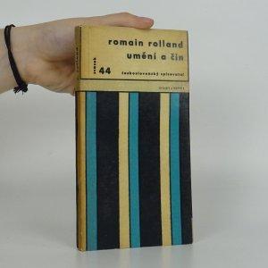 náhled knihy - Umění a čin