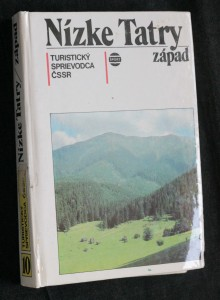 náhled knihy - Nízké Tatry - západ