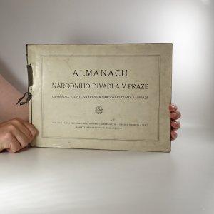náhled knihy - Almanach Národního divadla v Praze (fotografie od F. Drtikola, J.F. Langhanse a dalších)