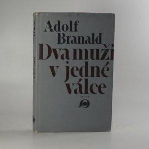 náhled knihy - Dva muži v jedné válce