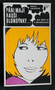 náhled knihy - Páni mají radši blondýnky ... ale žení se s brunetkami