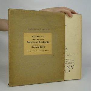náhled knihy - Praktische anatomie. Bein und Statik.