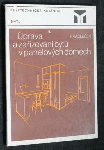 náhled knihy - Úprava a zařizování bytů v panelových domech