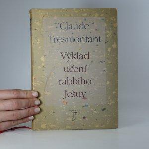 náhled knihy - Výklad učení rabbiho Ješuy
