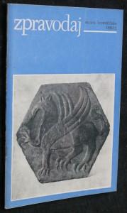 náhled knihy - Zpravodaj muzea kroměřížska 1986 č. 2